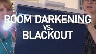 Blackout Shades vs Room Darkening Shades