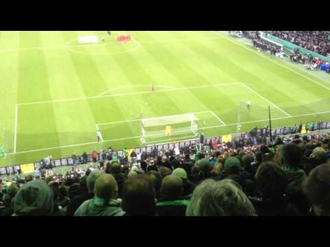 Borussia Mönchengladbach – Eintracht Frankfurt – DFB Pokal Elfmeterschießen 25.04.2017