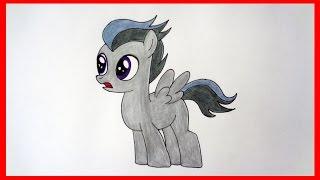 How to draw pony Rumble, my little pony, Как нарисовать пони Рамбл, дружба это чудо(How to draw pony Rumble, my little pony, Как нарисовать пони Рамбл SUBSCRIBE ..., 2015-08-16T07:03:47.000Z)