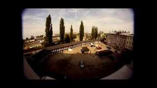 Podwórka na temat - Lublin -  Kunickiego z lotu ptaka
