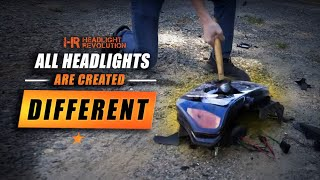 All headlights are created DIFFERENT