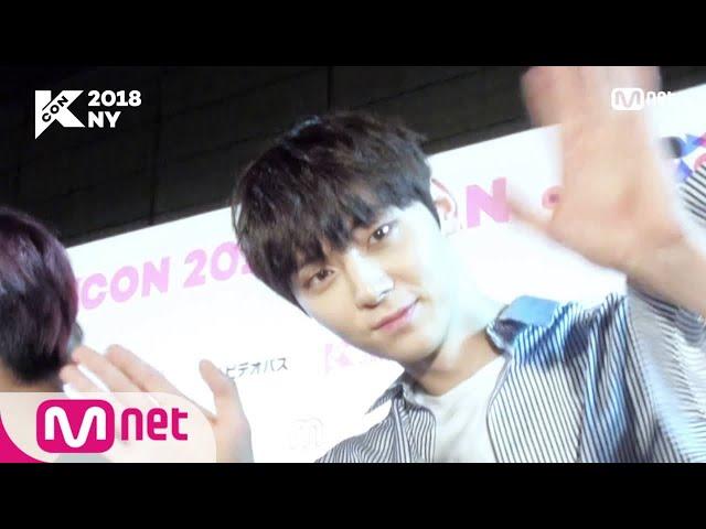 [KCON 2018 NY]M&G HI-TOUCH! ′Wanna One′