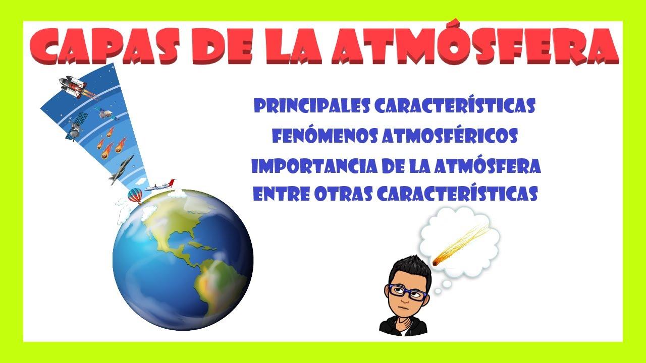 La Atmósfera Y Sus Principales Características Youtube