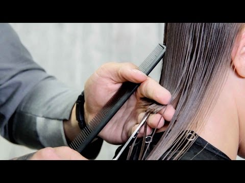 Client Consultation & Haircut with Zak Mascolo