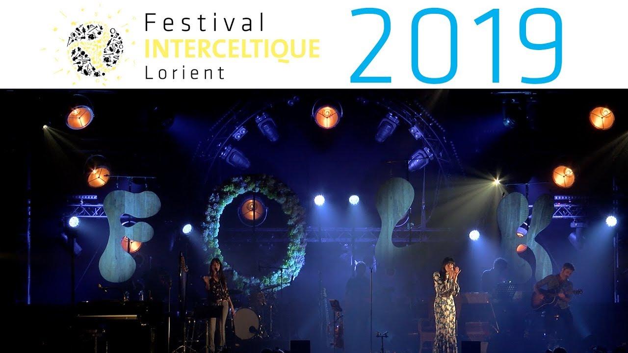 Nolwenn Leroy - Clarisse Lavanant - Festival Interceltique de Lorient 2019