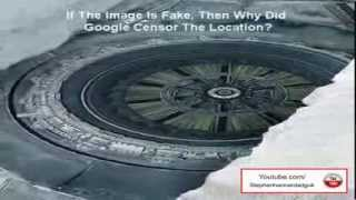 Alien Base And Flying Saucer Found In Antarctica 2013 HD - UFO Evidence in Antarctica