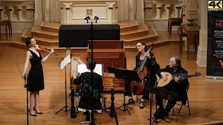 Giovanni Battista Fontana: Sonata Seconda. Alana Youssefian, baroque violin & Voices of Music 4K UHD