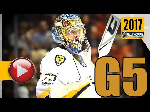 Nashville Predators vs Anaheim Ducks. NHL 2017 Playoffs. Western Conference Final. Game 5. (HD)