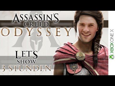? ASSASSINS CREED ODYSSEY ⚔️ Die ersten 3 Stunden mit der XBox One X Version thumbnail