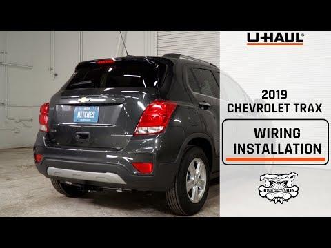 2019 Chevrolet Trax Wiring Harness Installation