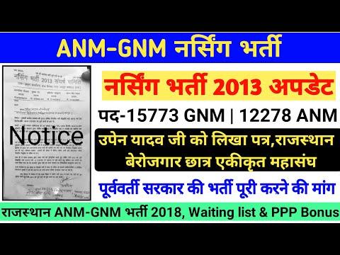 ANM-GNM भर्ती 2013 : नर्सिंग भर्ती 2013 संघर्ष समिति ने उपेन यादव को लिखा पत्र,पूर्णपदों पर हो भर्ती