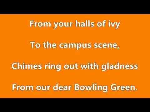 BGSU Alma Mater- Music & Lyrics