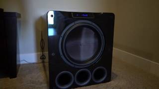 subwoofer excursion