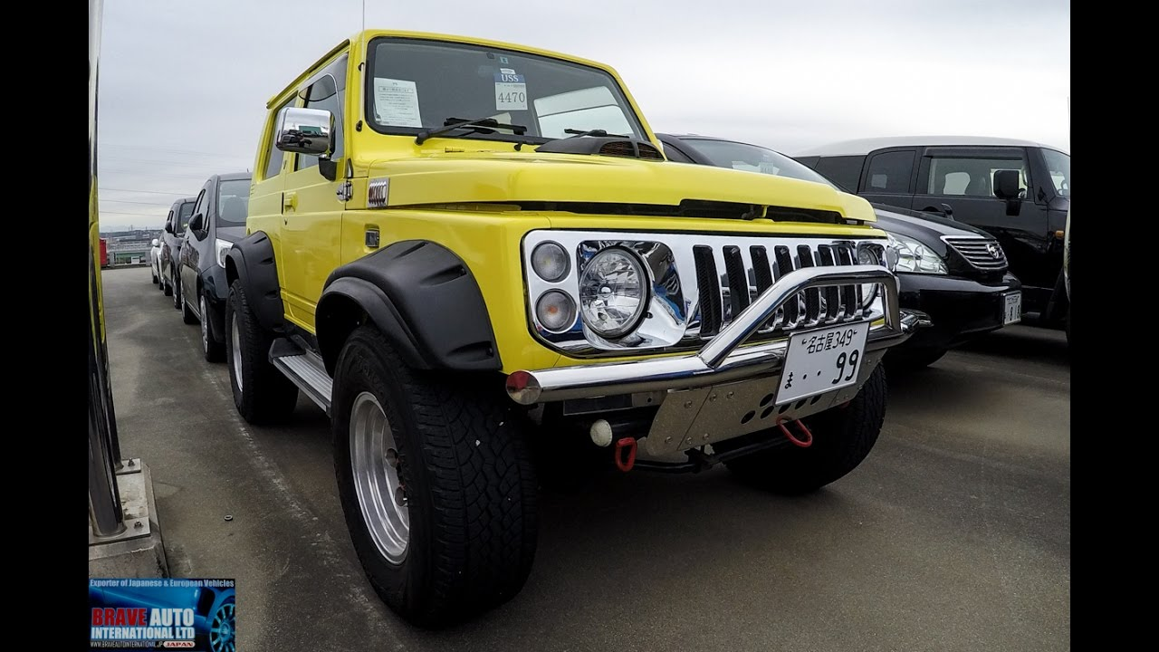 Sierra Auto Auction >> 1996 Suzuki Jimny Sierra Modified At Japan Jdm Car Auction