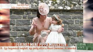 Pippa Middleton esküvője: csak jegyes vagy házastárs lehetett a plusz egy fő - tv2.hu/mokka