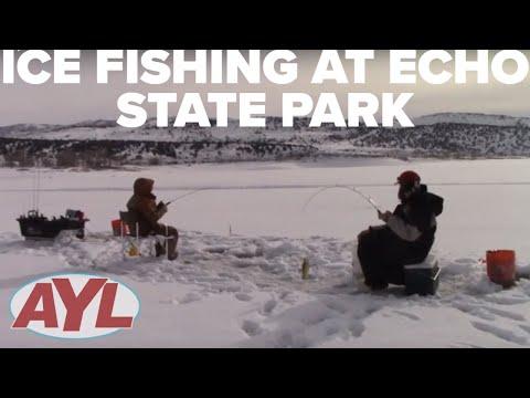 Ice Fishing At Echo Reservoir 2019
