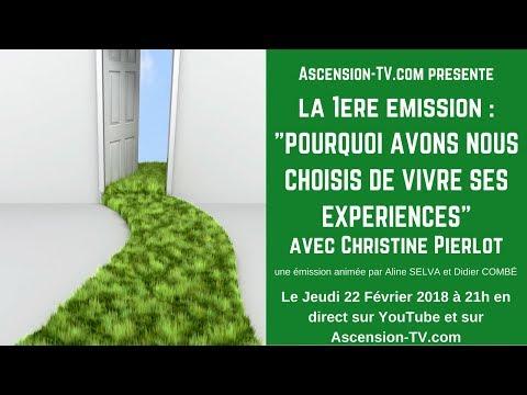 """[BANDE-ANNONCE] """"POURQUOI AVONS NOUS CHOISIS DE VIVRE SES EXPÉRIENCES"""" avec Christine PIERLOT"""