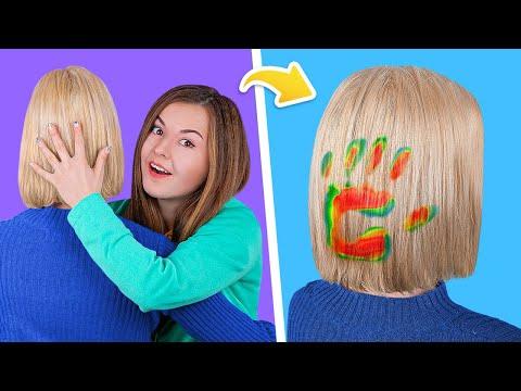 13 крутых лайфхаков для волос! Простые причёски