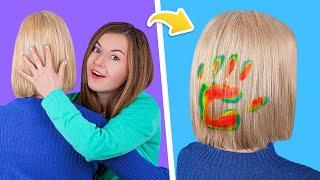 13 крутых лайфхаков для волос Простые причёски