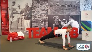 Yoga #2 with Leon Taylor | I am Team GB
