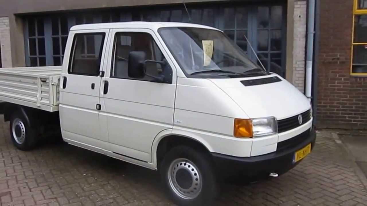 Vw transporter pick up te koop bij van burik bedrijfswagens youtube - Te koop ...