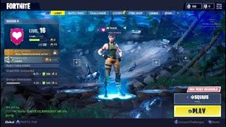 Fortnite PS4 - Searching For Treasure Chests And Doing Squad Matches