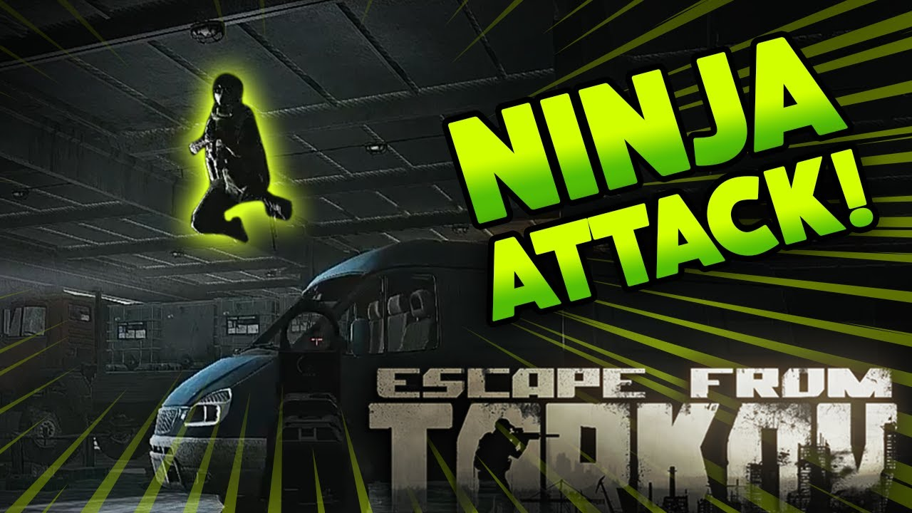 *NEW* NINJA RAIDER IN GAME?! | EFT_WTF ep. 140 | Escape from Tarkov Funny and Epic Gameplay