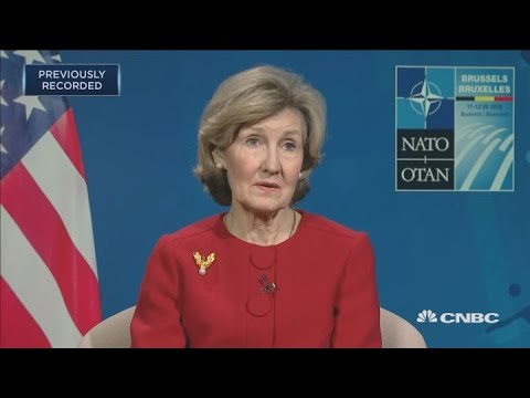 US ambassador to NATO: We are worried about Turkey and Russia | Capital Connection