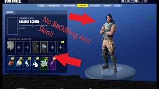 How to Select No Backbling and Skin In Fortnite Season 5!   Velocity