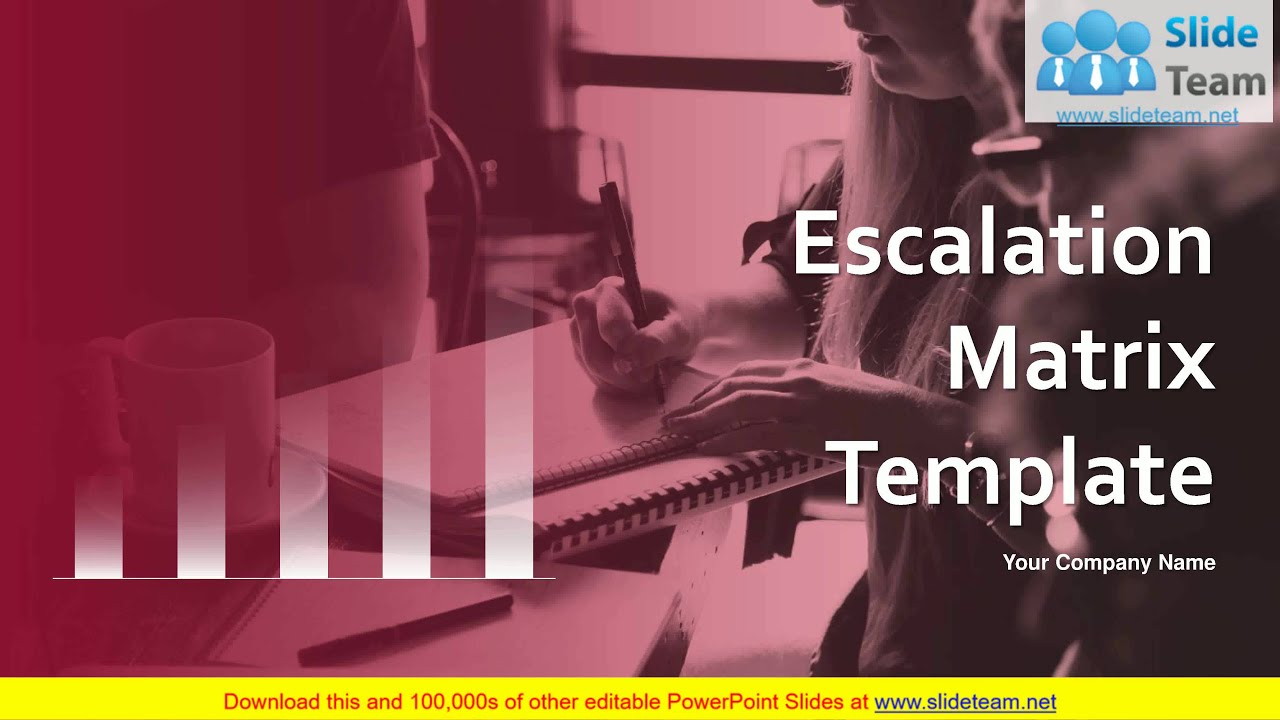 Escalation Matrix Template PowerPoint Presentation Slides. Presenting this set of slides with name - Escalation Matrix Template PowerPoint Presentation Slides. Keep your audience glued to their seats with professiona.... Youtube video for project managers.