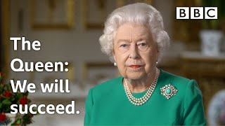 'We will meet again' - The Queen's Coronavirus broadcast | BBC