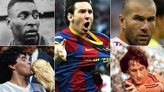 Top 10 Best Players Of All Time (HD)