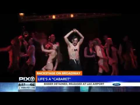 Backstage on Broadway Morning News AIR CHECK: 'Cabaret'