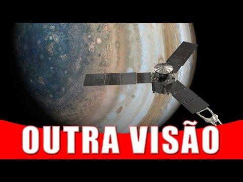Juno Bate Foto Incomum da Grande Mancha Vermelha de Júpiter | AstroPocket News