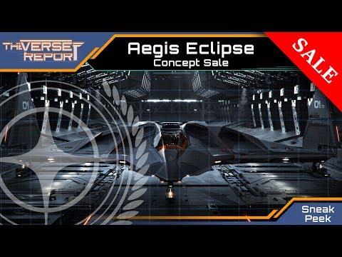 Star Citizen AEGIS Eclipse Sale   Sneak Preview [Deutsch/German]