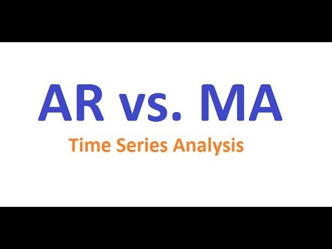 Autoregressive Vs. Moving Average: Difference Between AR And MA In Microsoft Excel