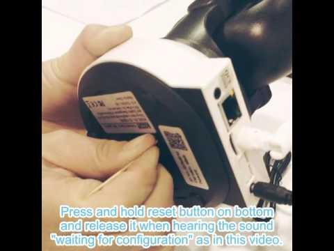 How to Reset Sacam WiFi IP Camera SASDIGI72M1WL with App HomeC or