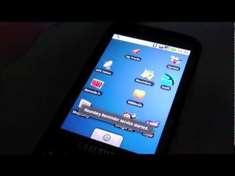 Samsung Galaxy i7500 Android.flv