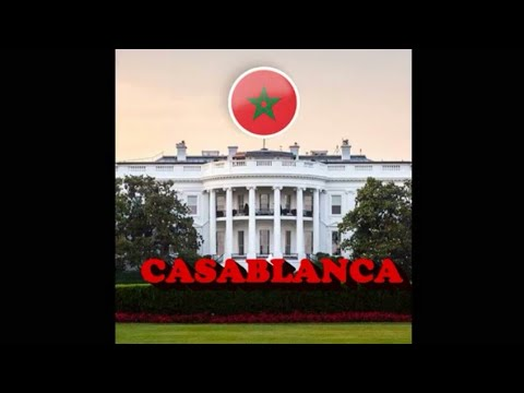 """Casablanca? Sabaean """"Christian"""" (Islamic) Nation Stolen by Turkic Vampires from Ancient Persia?"""