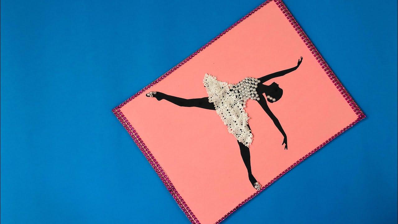 Diy Ballerina Wall Art How To Make Wall Decor At Home