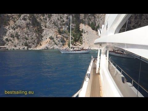 Symi Island On Luxury Yacht Princess 95