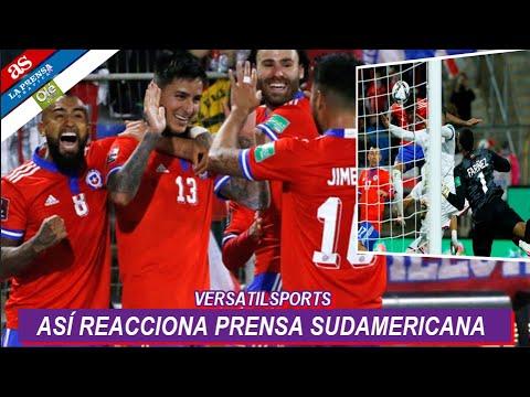 ASI REACCIONA PRENSA SUDAMERICANA a VICTORIA de CHILE vs VENEZUELA