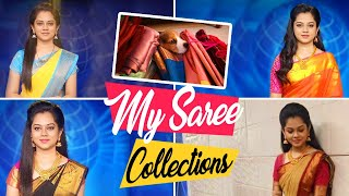 My Saree Collection | Cherry's Interruption | Anithasampath Vlogs