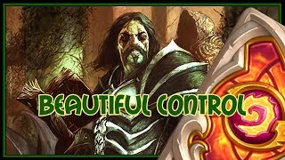 Hearthstone: Beautiful control (quest warrior)