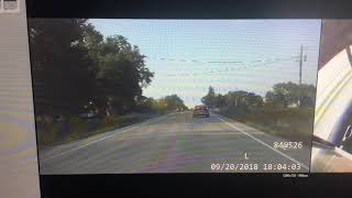 WATCH: Full Dashcam Video of 9/20/2018 Chase Through Linn County