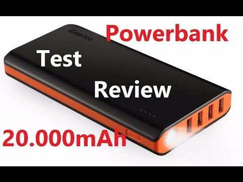 Powerbank Test 20.000 mAh EasyAcc Deutsch. Perfekt für Pokemon Go