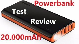 Powerbank Test 20.000 mAh EsayAcc Deutsch. Wie oft kann ich das Handy Laden