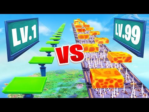 Worlds Hardest Fortnite Parkour School (Noob vs Pro)