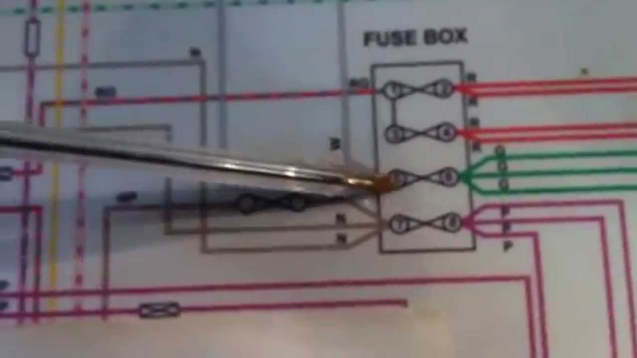 Mg Midget Wiring Diagram Car Capacitor Audio Installing Mgb Relays - Youtube