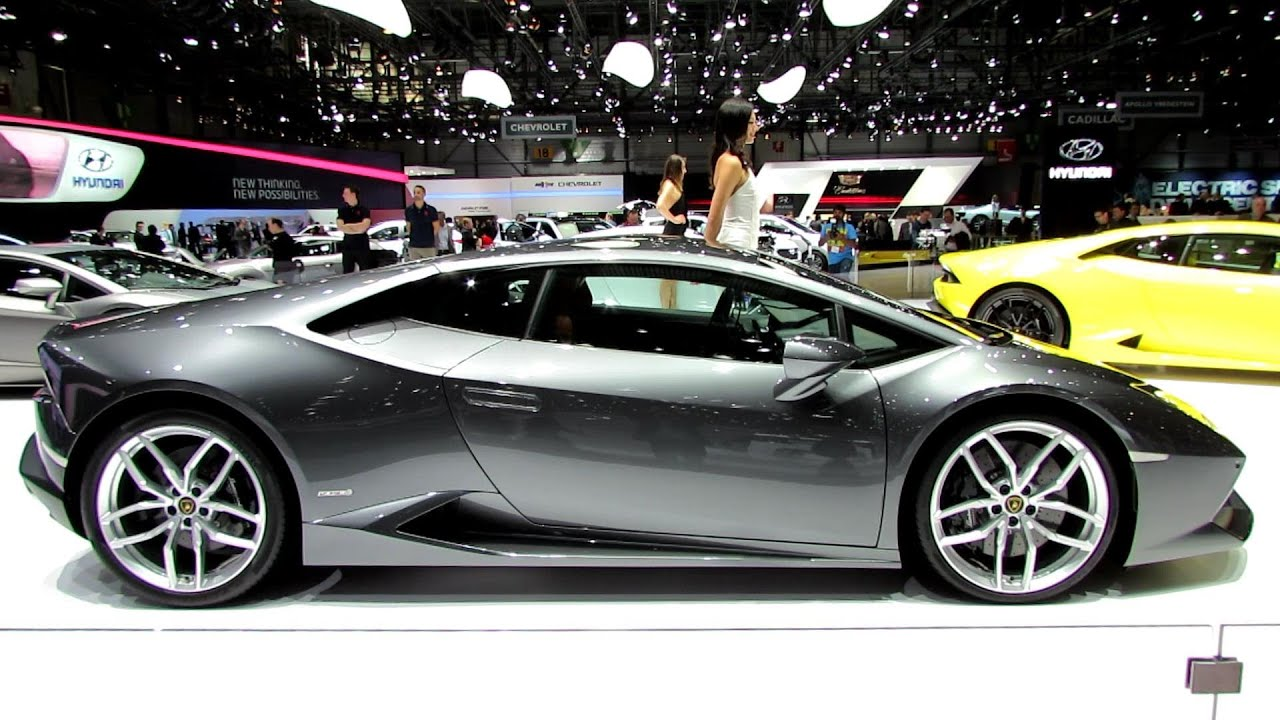 2015 lamborghini huracan lp610 4 exterior walkaround debut at 2014 geneva motor show youtube